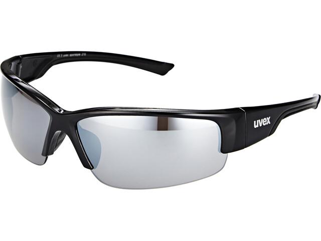 UVEX Sportstyle 215 Glasses, black/silver